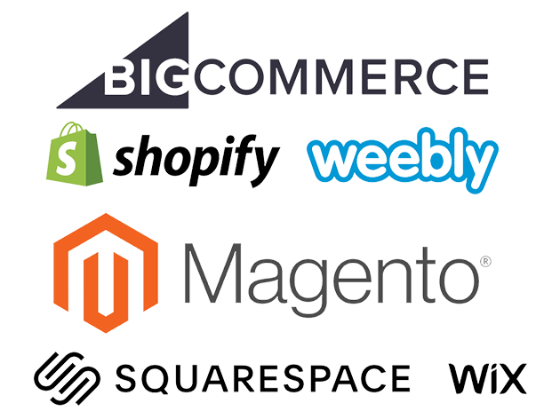 6 Most Poular E-commerce platforms we work with